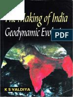 The Making of India Geodynamic Evolution (K S Valdiya)