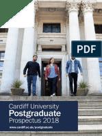 Postgraduate Prospectus 2018 English