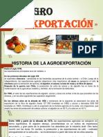I ... Agroexportación Peruana en El Mundo