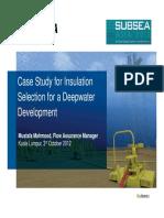 Subsea Insulation