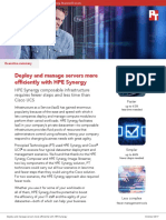 Deploy and manage servers more efficiently with HPE Synergy - Summary