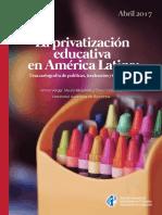 La privatización educativa en América Latina