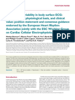 QT Interval Variability in Body Surface ECG