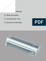 Manual plastificadora lervia kh230