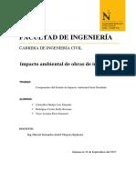 Componentes Del Estudio de Impacto Ambiental