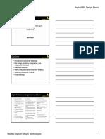 Mix Design Basics Handout