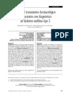 Apego al tratamiento farmacológico en pacientes con diagnóstico de diabetes mellitus tipo 2