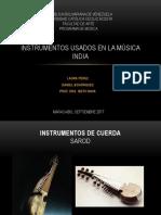Instrumentos Usados en La Música India
