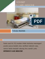 Konsep Intensive Care Medicine