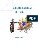 Índice Clima Laboral Manual Seguro