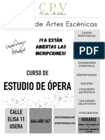 Cartel A4 ópera PDF