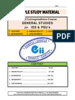 IES PSU General Studies