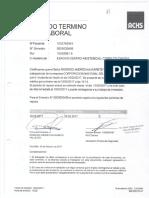 Certificado de Termino de Reposo Laboral Rodrigo Andrés Navarre
