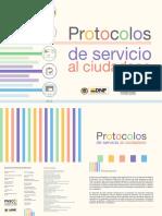 Servicio Al Ciudadano - Protocolos