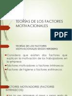 Teorías de Los Factores Motivacionales Sesion 03 04