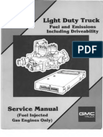 1988 GMC Light Duty Truck Fuel and Emissions Including Driveability