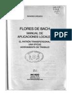 Flores de Bach, Manual de Aplicaciones Locales-Ricardo Orozco