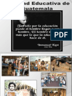 La Realidad Educativa de Guatemala