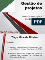 Aula 01 - Introdução à Gestão de Projetos - Enviar
