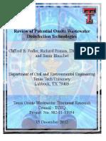 FinalReport DisinfectionTechonolgies Project582!11!11054 Fedler