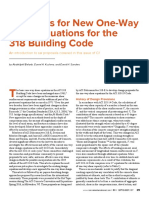 Proposals for New One-Way Shear Equations for the 318 Building Code