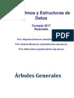 Redictado - AyED-Clase 5.1- Aplicacion Recorrido Por Niveles en Arboles Generales-2017 (1)