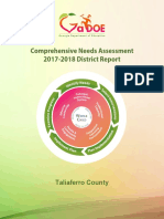 Taliaferro District Comprehensive Needs Assessment FY18 (1)
