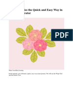 Create Peonies the Quick and Easy Way in Adobe Illustrator