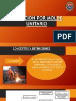 Fundicion Por Molde Unitario Original