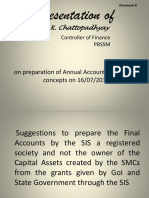 Annex X - Presentation on Preparation of Annual Accounts of SSA by FC West Bengal (1)
