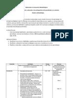 Agenda y Metodología Del Taller II