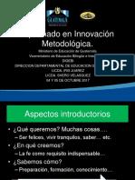 Taller II Diplomado en Innovacion Metodologica