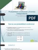 Probabilidad Condicional y Eventos Independiente