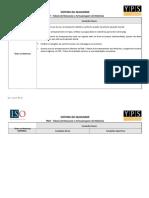 TAM - Tabela de Manuseio e Armazenamento de Materiais v.02