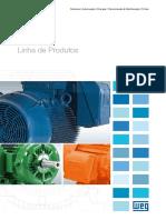 WEG Motores Linha de Produtos 50009275 Catalogo Portugues Br