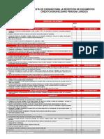 Lista de Recaudos Para La Solicitud de Crédito Agropecuario p.j