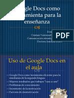 Google Docs - Josefina Bravo