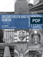 Cook County executive budget recommendation FY 2018