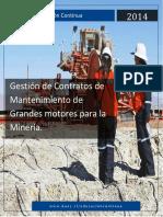 Gestion de Contratos de Manteniemiento de Grandes Motores Para La Mineria