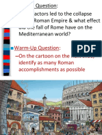 the decline  fall of the roman empire