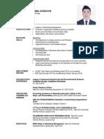 Resume - Template 2016