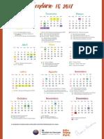 Calendario Fg 2017