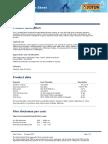 Baltoflake Data Sheet
