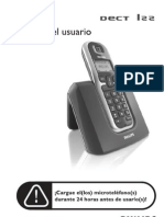 Manual Telefono Phillips Dect 122