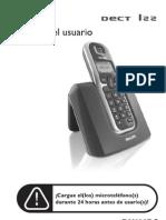 Manual Telefono Phillips Dect 122