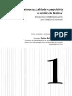 Heterossexualidade compulsória e existência lésbica - Adriene Rich.pdf