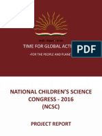 NCSC-16 -3. Project Report