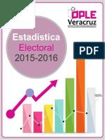 Estadística Proceso Electoral 2015-2016