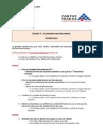 Fiche 2 - Pièces Constitutives Dossier Pédagogique DAP