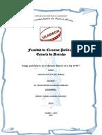 """""""Etapa Postulatoria en El Derecho Laboral en La Ley 29497"""" Brendy"""
